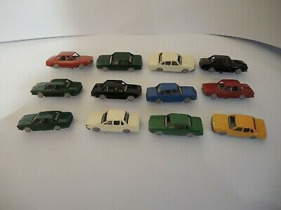 12 Architectural Modelmakers Model Cars Scale 1:100 • 15.10£