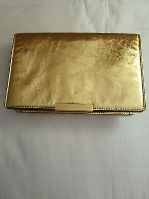 AU69 • Buy OROTON Gold Clutch Bag Crossbody Bag Large With Chain New No Tag