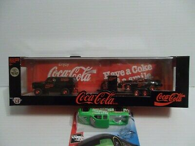 $ CDN103.35 • Buy M2 Machines Coca Cola 73 Chevy Cheyenne Super 10 85 Camaro Iroc Hauler 750 Chase