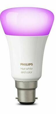 AU37.45 • Buy Philips Hue B22 Richer Colors White And Color LED Light 9290011421 A60 10W