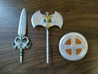 $19.99 • Buy MOTU 200x He-Man Masters Of The Universe Weapon Accessory Lot - Sword Axe Shield