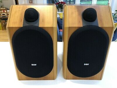 B&W CDM 1 SE Speakers In Cherrywood. Excellent Condition.  • 213£
