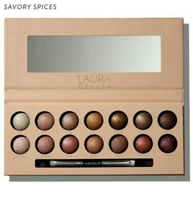 Laura Geller The Delectables Baked Eyeshadow Palette - Savory Spices  - NEW • 20.50£