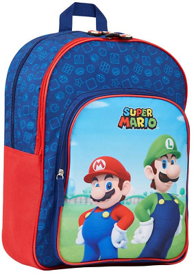 Super Mario Kids Backpack, School Bag For Boys And Teenager, Super Mario Gifts • 19.96£