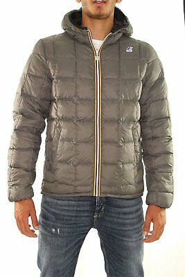 AU442.88 • Buy K-WAY Mens Quilted Jacket Art. K001K40 Mod. Jacques Thermo Plus Double
