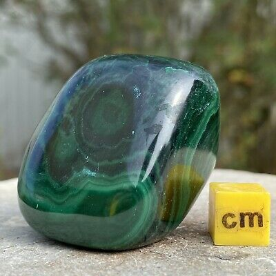 Malachite A-Grade Large Tumblestone Spiritual Healing Mineral RSE418 ✔UKseller • 25.20£