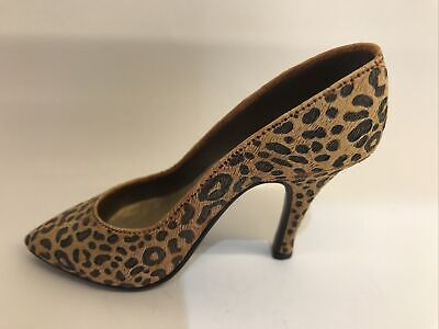 Just The Right Shoes   'leopard Stiletto'  25017. Excellent Condition • 0.99£