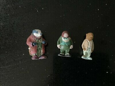 Set Of 3 Wind In The Willows Figures From Typhoo Tea • 2£