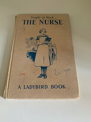Vintage Ladybird Book People At Work: The Nurse 1963 Illustrations By John Berry • 10£