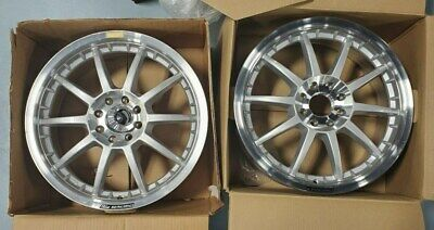 AU387.05 • Buy  2 Ford Racing Focus Wheels 10 Spoke Tuner Wheels 8 Lug Pattern 18.5 Diameter