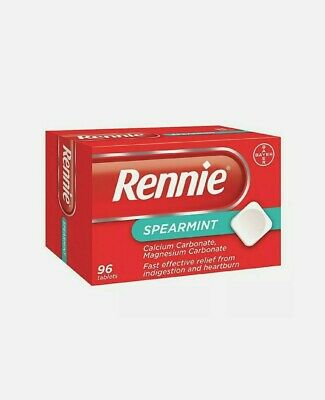 Rennie Spearmint Heartburn And Indigestion Relief 96 Tablets---SPECIAL OFFER-- • 7.99£