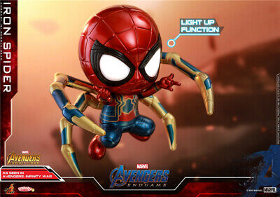 $ CDN42.40 • Buy Hot Toys Cosbaby Marvel Avengers Endgame Iron Spider COSB594 Light Up Magnetic