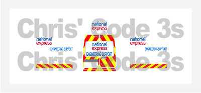 £6.50 • Buy Code 3 Adhesive Vinyl Decal Suit Oxford Diecast 1/76 Various - National Express