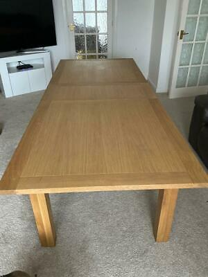 Solid Oak Dining Table From NEXT Seats 6 - 8 • 25£