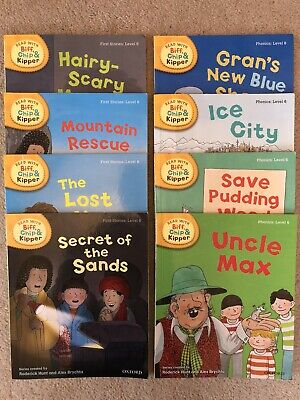 Oxford Reading Tree, Biff Chip And Kipper, Level 6, 8 Book Set • 19£