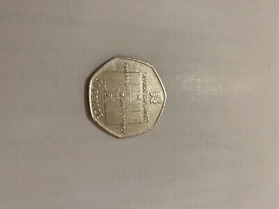 50p Offside Explained Coin - Very Good Condition • 15.99£