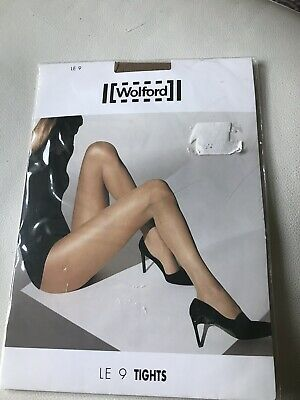 Wolford Le 9 Tights Caramel Size L New  • 4.99£