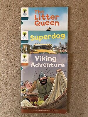 Oxford Reading Tree, Biff Chip And Kipper, Book Band 7 Turquoise, 3 Books • 5.50£