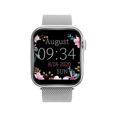 $ CDN36.56 • Buy 2021 Touch Smart Watch Women Men Heart Rate For IPhone Android IOS Waterproof