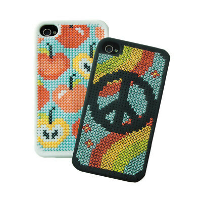 ANCHOR   Counted Cross Stitch Kit: IPhone 4 Case - Choice Of Designs   RDK22 • 23.69£