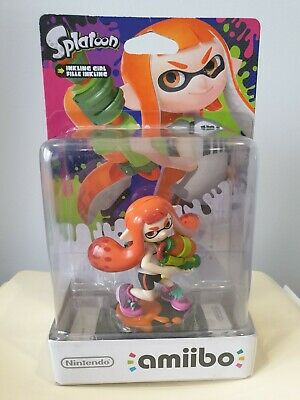 AU37.50 • Buy Inkling Girl Amiibo Splatoon Orange AUS Version NEW IN BOX