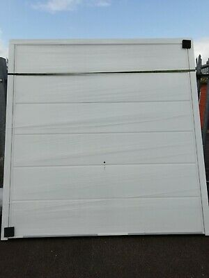 £350 • Buy Up And Over Garage Door Cardale Novoferm Haven Wide Ribbed White BRAND NEW