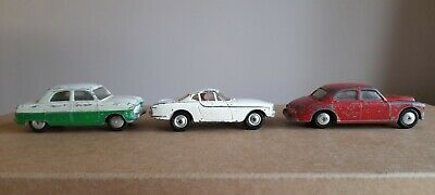 Corgi Toy Cars Volvo P1800 Ford Consul Riley Pathfinder • 0.99£
