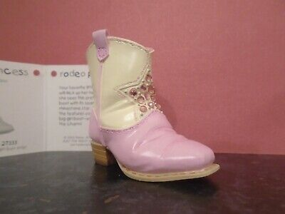 Just The Right Shoe Rodeo Princess # 27333 • 7.50£