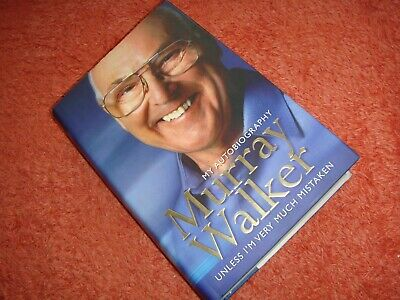 SIGNED MURRAY WALKER AUTOBIOGRAPHY  (HB, 1st ED & UNDEDICATED) • 9.99£