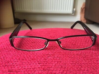 Prada Ladies Glasses. Black With Silver Detail On Arms. Good Condition With Case • 22£