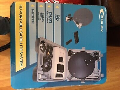 New Digital Portable Caravan Camping Satellite System Complete Never Used • 25£