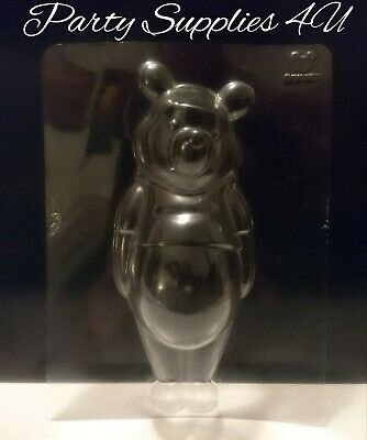 Disney Winnie The Pooh Plastic Mould/mold. Chocolate/parties/sweet/jelly/bear • 5.99£