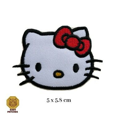 £1.89 • Buy Hello Kitty Cute Animal Cartoon Iron On Sew On Embroidered Patch
