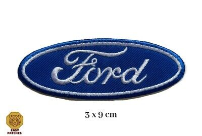 £1.99 • Buy Ford Automobile Motorsports Logo Badge Embroidered Iron Sew On Patch