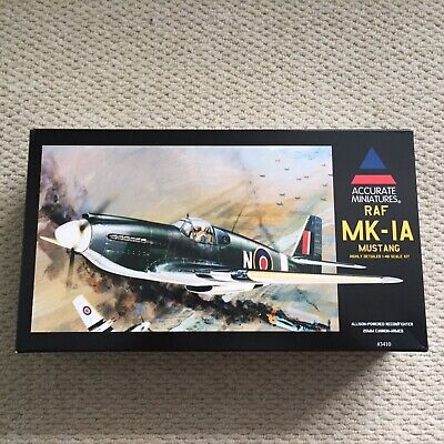 Accurate Miniatures 1/48th P51 Mustang 1A • 15.99£