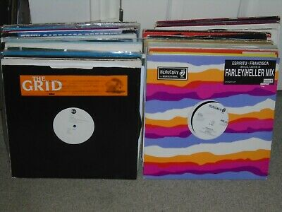 125 X 12    1990's Dance / House  / Old Skool / Record Collection.   DJ / JOBLOT • 90£