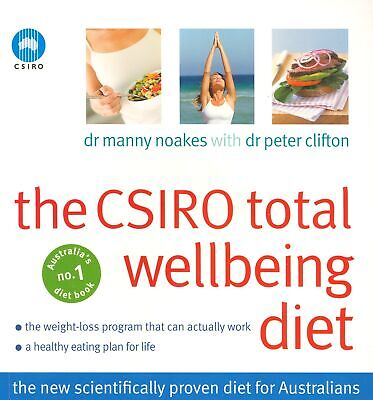 AU37.40 • Buy The CSIRO Total Wellbeing Diet ' Clifton, Peter