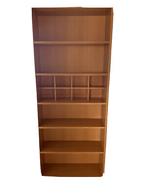 AU35 • Buy Bookcase With 6 Shelves And Cube Compartment Storage - Used