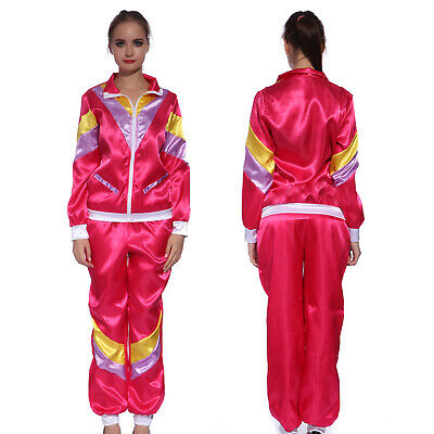 1980s Scouser Shell Suit Jimmy Tracksuit Stag Do Fancy Dress Costume Men Women • 11.99£