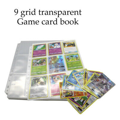 £10.89 • Buy 50 Pages Loose-leaf Refill Cards Collection Page 9 Grit Card Protector Sleeves