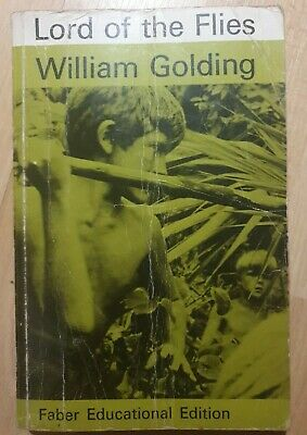 Lord Of The Flies By William Golding 1962 Paperback  • 2.99£