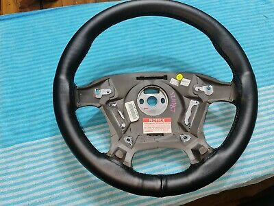 AU165 • Buy  VT VX Black Leather Steering Wheel SS Commodore With No Air Bag No Switches