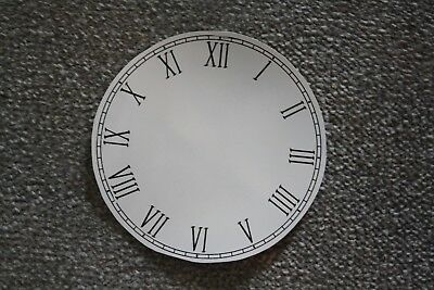 £6.85 • Buy Vintage 6  Clock Face/dial  Thin  Roman Numeral Number Renovation Wet Transfer