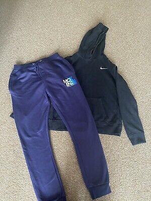 Nike Hoodie And Mckenzie Tracksuit Bottoms Age 13-15 Years • 1.70£