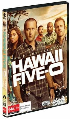 AU23 • Buy Hawaii Five 0 The Eighth Season Box Set DVD Region 4 NEW & SEALED