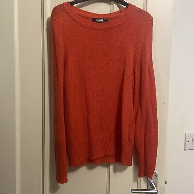 M&S Limited Collection Coral Knitted Jumper Size 10 • 6.75£