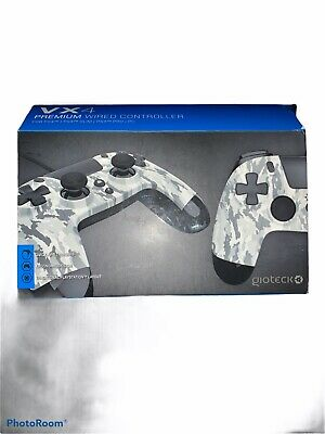 Gioteck Wired Ps4 Controller In Camo • 10£