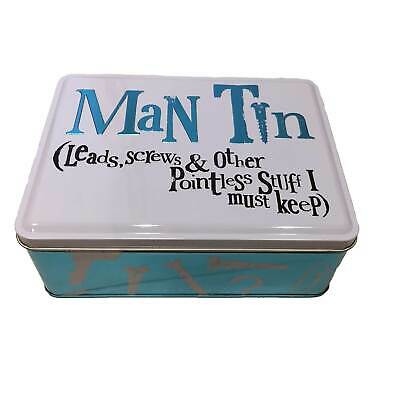 The Man Tin From Bright Side - A Great 10th Anniversary Gift Idea For Men • 10.95£