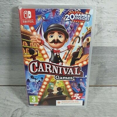 Carnival Games For Nintendo Switch - NEW & SEALED  • 24.99£