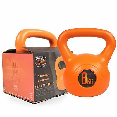 AU48.95 • Buy Phoenix Fitness 8Kg Kettle Bell For Home And Gym Workout - FAST & FREE DELIVERY